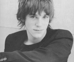 gaspard ulliel, black and white, and boy image