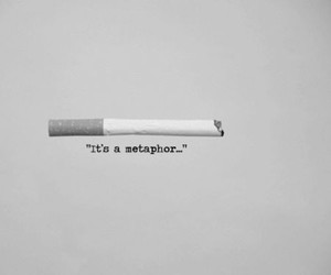 metaphor, the fault in our stars, and book image