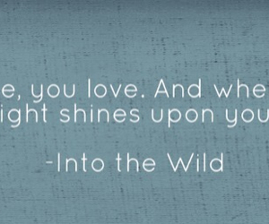 christopher mccandless, into the wild, and quotes image