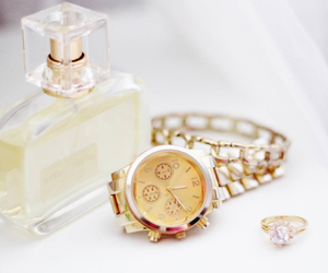 fashion, perfume, and watch image