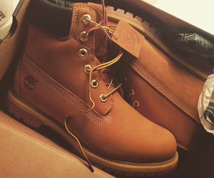 fashion, timberlands, and shoes image