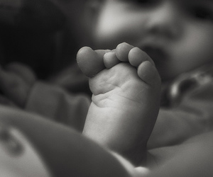 baby, foot, and gabriel image