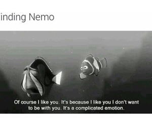 finding nemo, love, and quote image