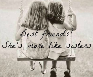 best friends, sisters, and child image