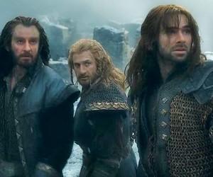 the hobbit, richard armitage, and aidan turner image