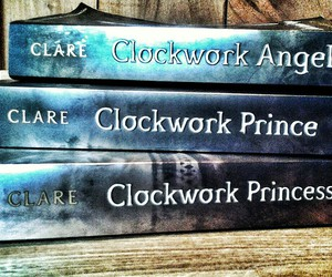 clockwork angel, the infernal devices, and clockwork prince image