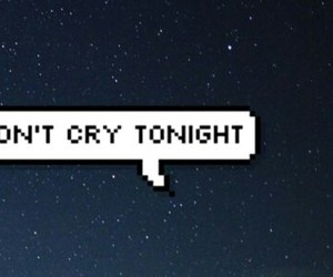 cry and night image