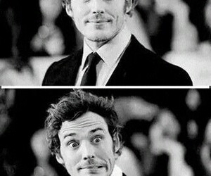 funny, smile, and finnick odair image