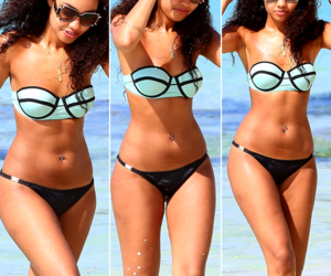 little mix, leigh-anne pinnock, and bikini image