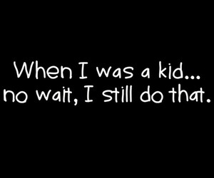 kid, funny, and quote image