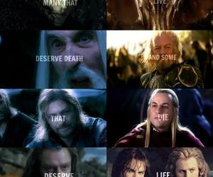 the hobbit, LOTR, and thorin image
