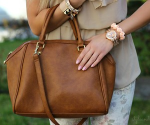 fashion, bag, and beautiful image