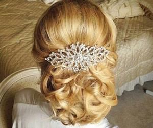 diamond, accessory, and hair image