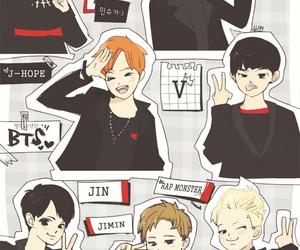 chibi, jin, and v image