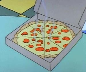 pizza, food, and gif image