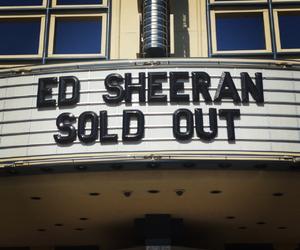concert and ed sheeran image