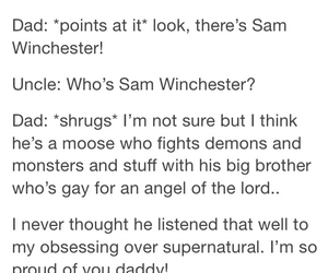 sam winchester, supernatural, and dean winchester image