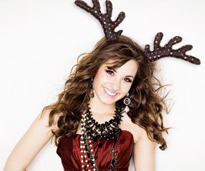 demi lovato, beautiful, and christmas image
