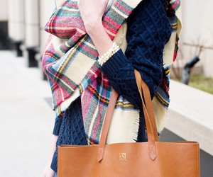 pearls, plaid, and preppy image
