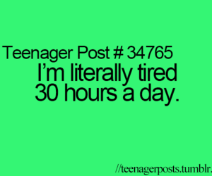 posts, teenager, and quote image