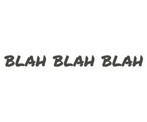 blah, shit, and stfu image