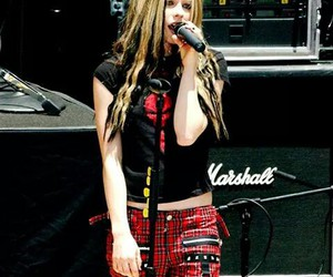 2004, Avril Lavigne, and hair image