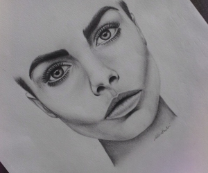 drawing, model, and pencil image