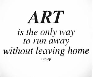 art, home, and quote image
