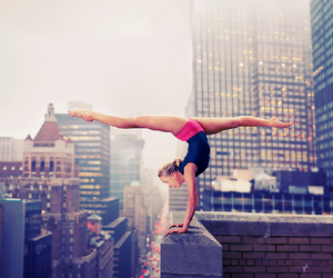 city, gymnastics, and dance image