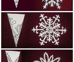 diy, snow, and snowflake image