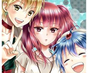 magi, aladdin, and anime image