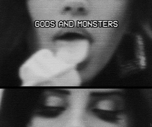 lana del rey, gods and monsters, and grunge image