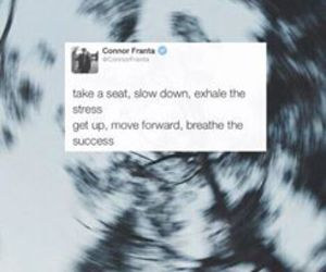 connor franta, quote, and twitter image