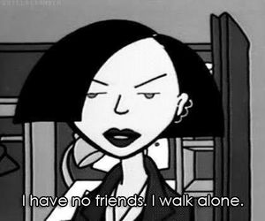Daria, alone, and friends image