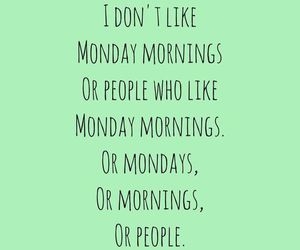 monday, people, and morning image