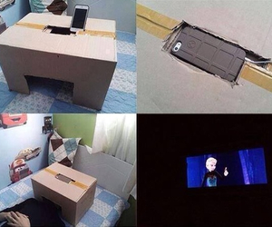 diy, movie, and box image