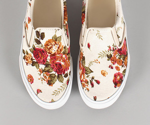 flats, happy, and floral image