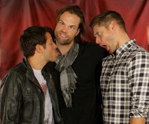 Supernatural Misha Collins And Jensen Ackles Image