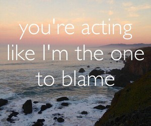 acting, not, and blame image