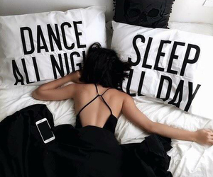 bed, dance, and dance all night image