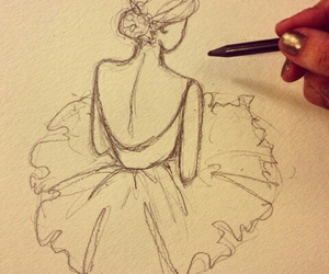 dance, dancer, and draw image