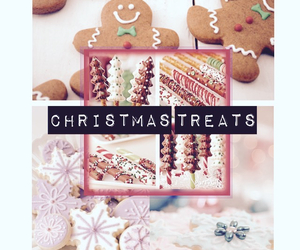 christmas, Cookies, and cute food image