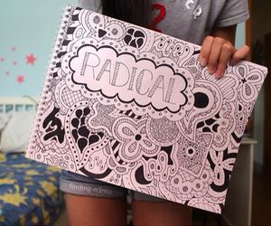 drawing, tumblr, and art image