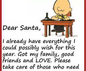christmas, santa, and family image