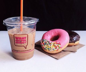 donuts, food, and drink image