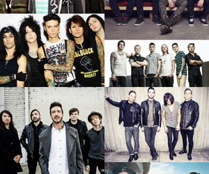 all time low, black veil brides, and sleeping with sirens image