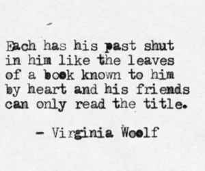 book, quote, and virginia woolf image