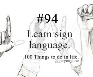 100 things to do in life, 94, and language image