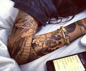 tattoo and iphone image