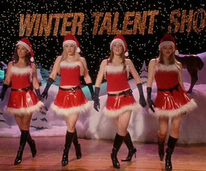 christmas and mean girls image